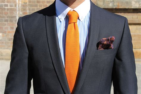 knit tie with suit the knitted tie smf