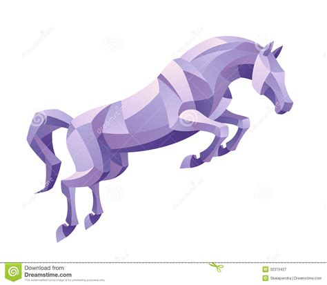 Free Online House Plans Jumping Horse Royalty Free Stock Photography Image 32370427