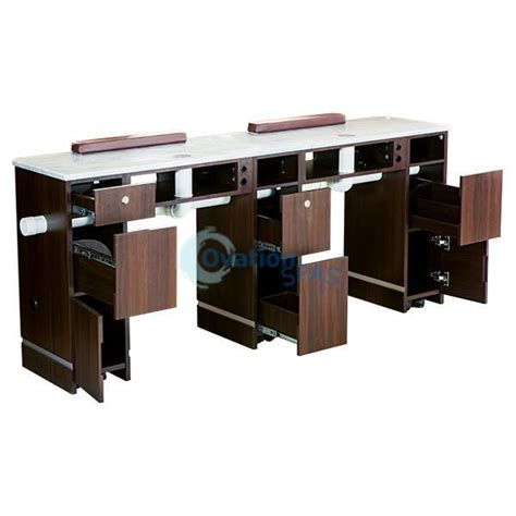 nail tables with ventilation nail table with ventilation pipe