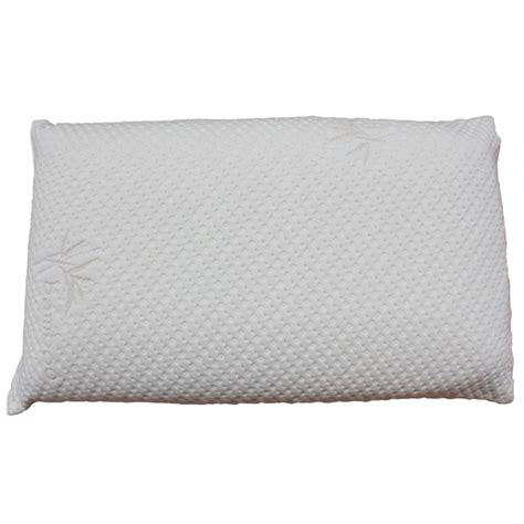 queen size bed pillows plush ventilated visco queen size memory foam pillow