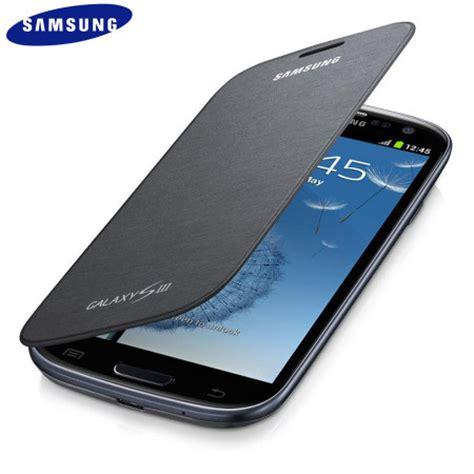 Hp Samsung S3 Original original samsung galaxy s3 tasche im flipdesign in titan silber efc 1g6fbecstd mobilefun schweiz