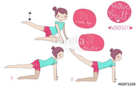esercizi per sedere quot esercizi illustrati ginnastica gambe e sedere quot immagini e