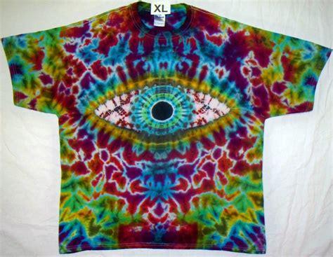 eye tie dye shirt