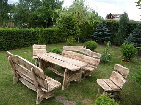 garden furniture wooden oak