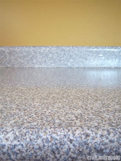 contact paper from home and granite on