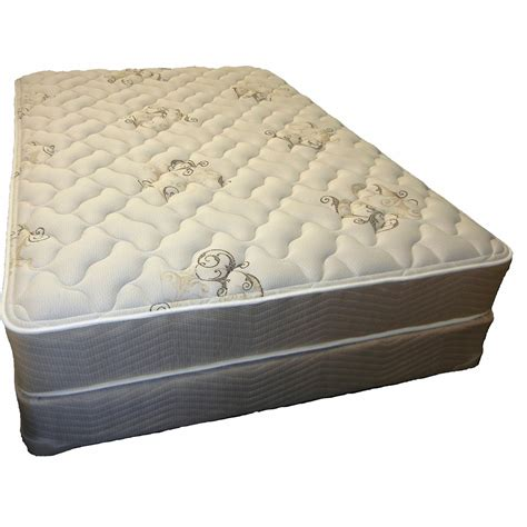 therapedic comfort supreme plush mattress set bj s wholesale club
