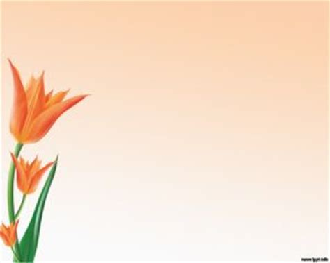 design powerpoint bunga multi color flowers powerpoint template