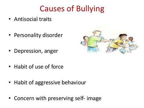 Bullying Causes or workplace bullying