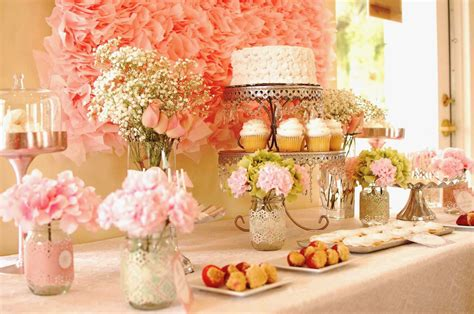 table decorations wedding shower table decorations ideas bridal shower table