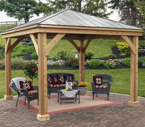 backyard pavilion kits 38 beautiful backyard pavilion ideas design pictures