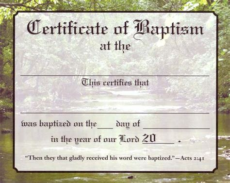 templates for certificates of baptism church supplies list of christian resources party
