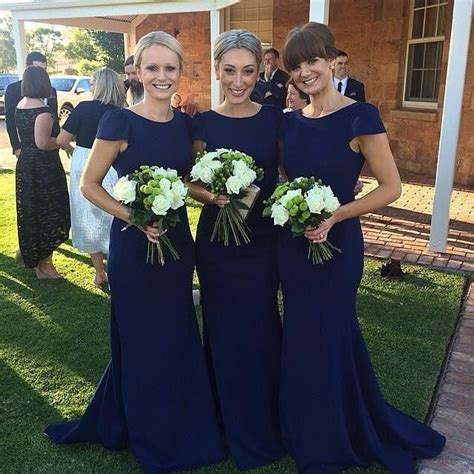 Navy Bridesmaid Dress by 17 Best Ideas About Navy Bridesmaid Dresses On