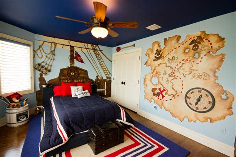 55 wonderful boys room design ideas digsdigs - Pirate Themed Room Decor