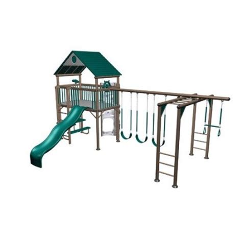 lifetime swing sets lifetime earth tone deluxe swing set walmart com