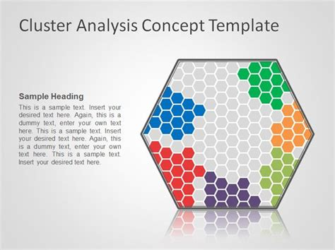 Free Cluster Analysis Concept Powerpoint Template Concept Presentation Template