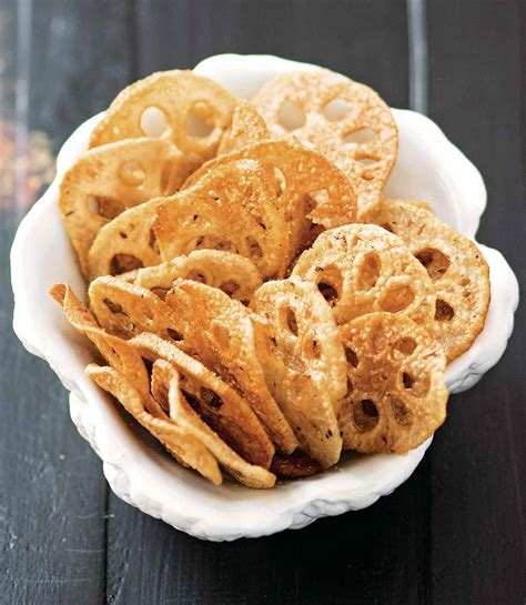 lotus root chips recipe leite s culinaria