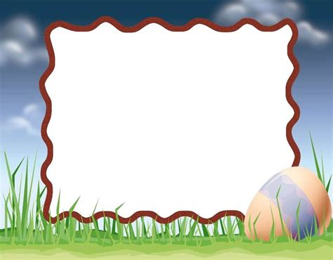 cornici per powerpoint nature easter frame power point backgrounds nature easter