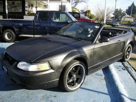 cheap ford mustang convertible  sale   black