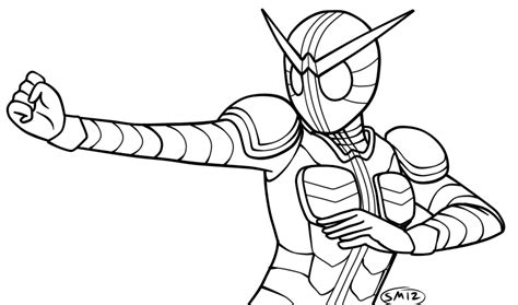 kamen rider ooo free coloring pages