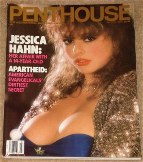penthouse magazine march 1988 jessica hahn affair with a
