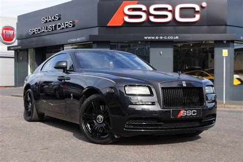 rolls royce wraith for sale uk used black rolls royce wraith for sale west