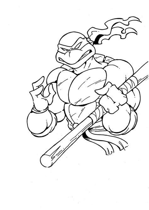 ninja turtle coloring page donatello donatello from tmnt sketch by manthomex on deviantart