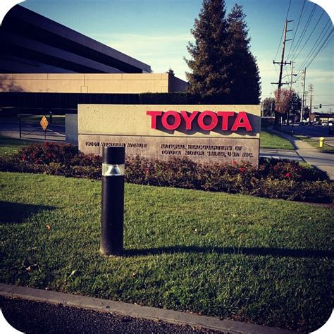 toyota headquarters torrance 10 facts about toyota not quite susie homemaker