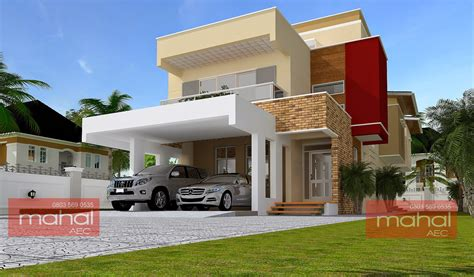 Five Bedroom House Plans contemporary nigerian residential architecture may 2015