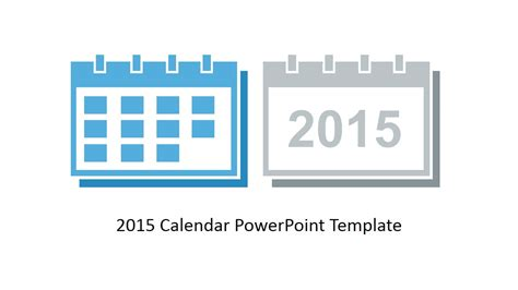 powerpoint calendar template 2015 free 2015 calendar template for powerpoint slidemodel