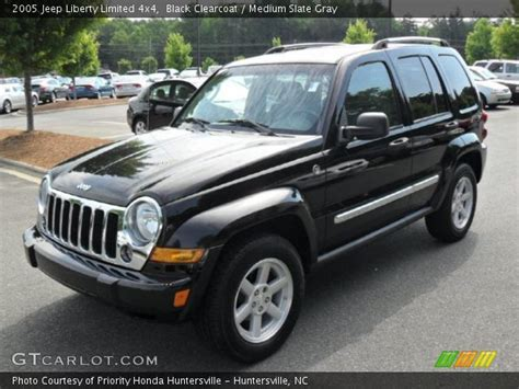 black jeep liberty 2005 black clearcoat 2005 jeep liberty limited 4x4 medium