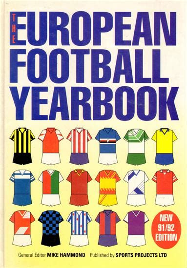 libro the european football yearbook sportsmemories by heartbooks