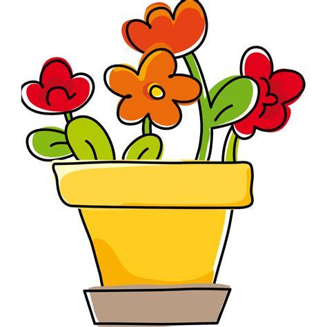 vaso di fiori adesivi murali vaso di fiori leostickers