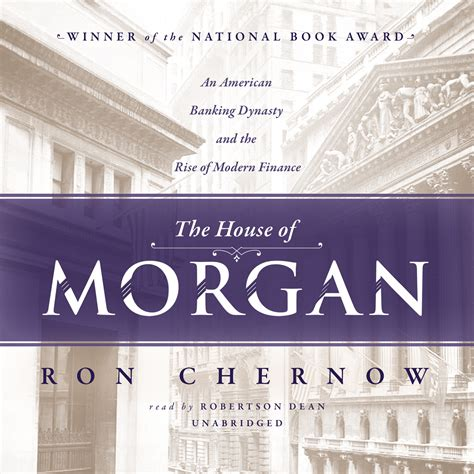 house of morgan download the house of morgan audiobook by ron chernow for just 5 95