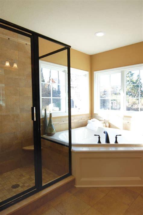 Big Tub With Shower Best 25 Corner Tub Ideas On