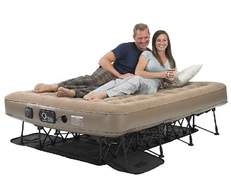 Air Mattress Support Frame by High End Air Bed On A Frame Sleeping With Air