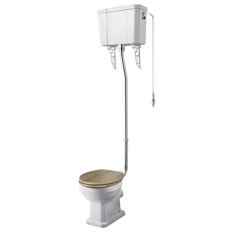 Plumbing Toilet by Richmond High Level Traditional Toilet Soft