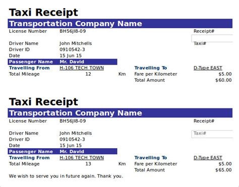 taxi receipt template doc the proper receipt format for payment received and general