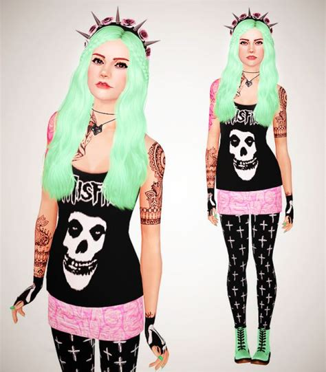 1000 images about pastel goth and grunge sims 4 cc on stuff by b182 sims 3 cc clothing pinterest posts