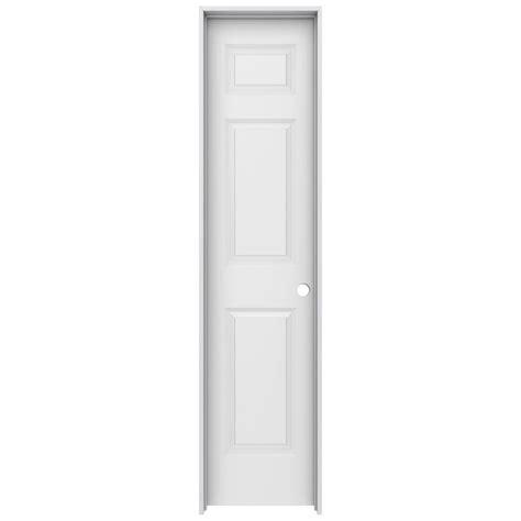 18 Prehung Interior Door Jeld Wen 18 In X 80 In Colonist Primed Left Smooth Solid Molded Composite Mdf Single