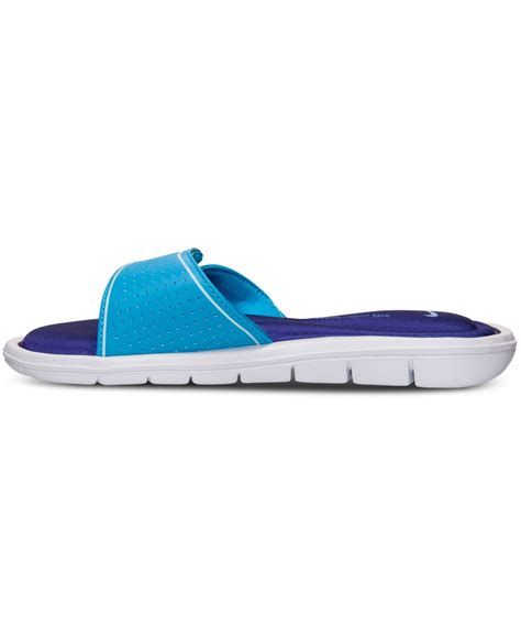 nike comfort slide nike women s comfort slide sandals from finish line in