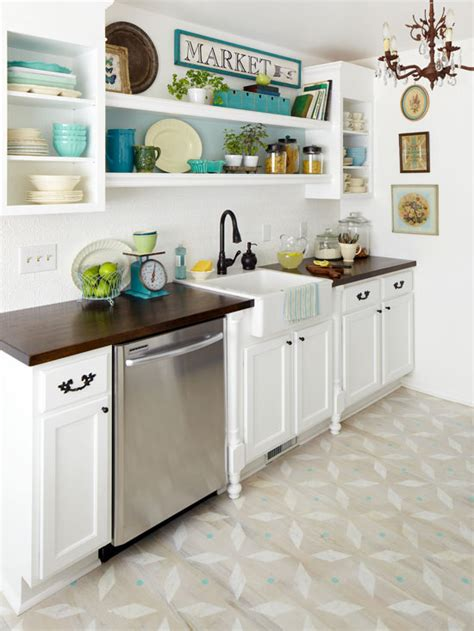 martha stewart floor ls diy stenciled floor better homes and gardens bhg com