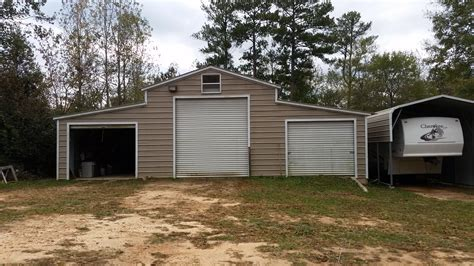 Car Port Garage by Carport Metal Carports Steel Garages Portable Buildings