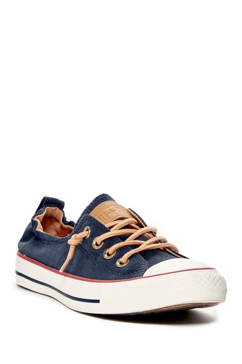 Converse Slop Navy converse chuck all shoreline slip on sneaker