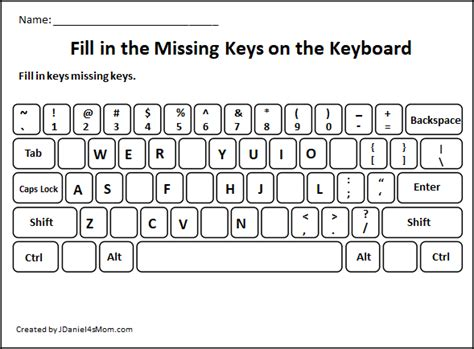Keyboard Typing Letters