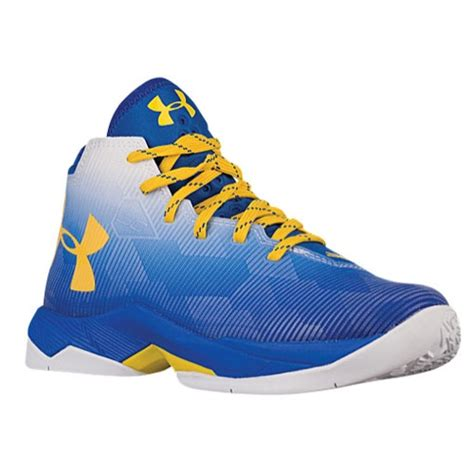 Sepatu Basket Armour Curry 2 0 White Blue Cr Import armour curry 2 5 boys grade school basketball shoes curry stephen white royal