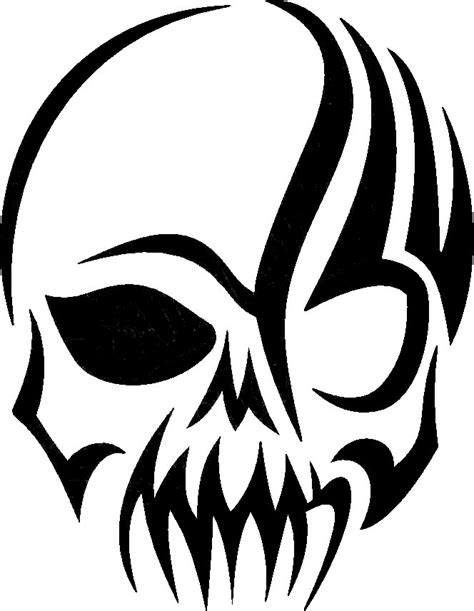 tribal skull decal prosportstickers com
