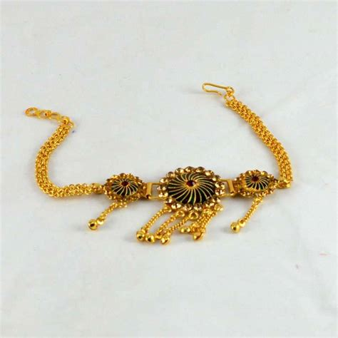 buy micro gold platted moti bajuband