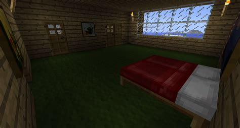 bedroom in minecraft minecraft stuff minecraft modern house