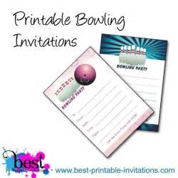 top 13 free printable bowling birthday invitations theruntime