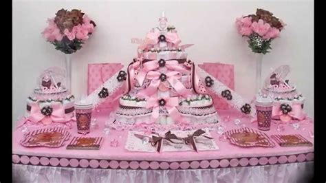 Pink And Brown Baby Shower Theme by Pink And Brown Baby Shower Themes